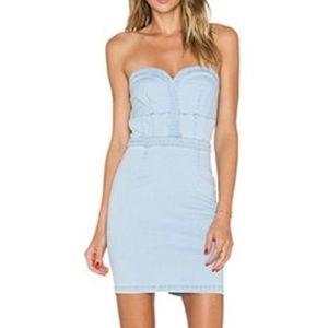 Revolve Clothing Lucy Paris Jean Dress Size M